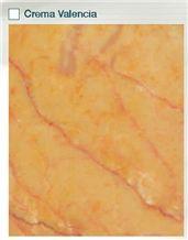 Crema Valencia Marble Slabs & Tiles, Spain Yellow Marble