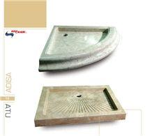 Travertine, Limestone Shower Tray