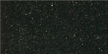 Black Galaxy Granite Slabs & Tiles, India Black Granite