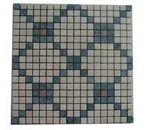 Green Marble Mosaic Pattern