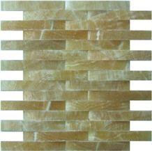 China Honey Onyx Liner Mosaic