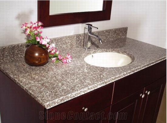 Granite Bathroom Vanity Tops china g623 granite bathroom vanity tops, stone bathroom custom