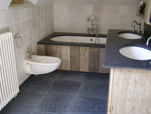 Belgian Bluestone Vanity Top Floor Tiles From Netherlands
