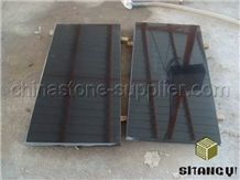Yuexi Black Galaxy Granite Slabs & Tiles, China Black Granite