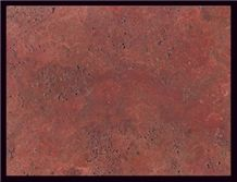 Soltan Red Travertine Slabs & Tiles, Iran Red Travertine