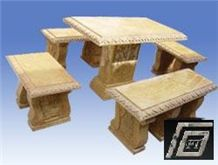 Sell Marble Tables, Bench and Flowerpot