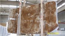 Coca Cola Onyx Slab, Honey Onyx Crema Tiles & Slabs, Brown Polished Onyx Tiles & Slabs
