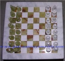 Onyx Chess Sets, Pakistan Green Onyx Artifacts & Handcrafts