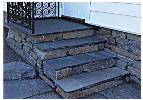 Slate Steps And Wall Tops From Norway Stonecontact Com