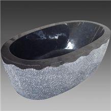 Shanxi Black Granite Bath Tub