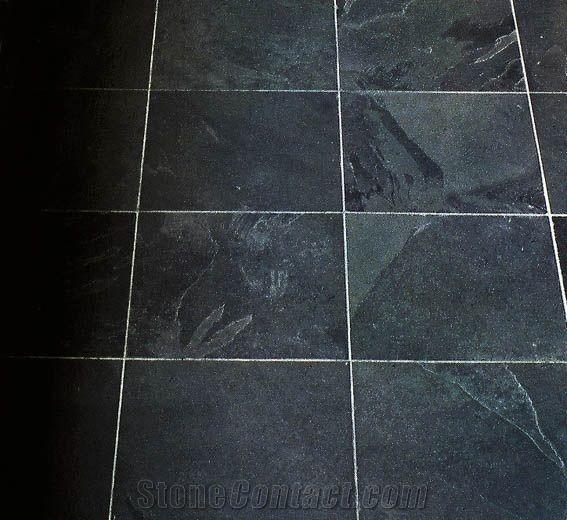 Brazilian Black Slate Slabs Tiles From