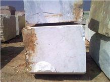 Balkan White Marble Blocks from Greece