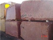 Persian Red Marble Block