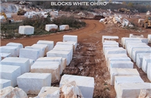 Marble Blocks White Ohiro