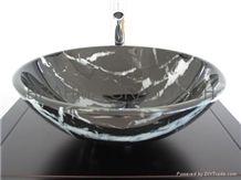 Wash Basin, Pedestal and Vanities Marble