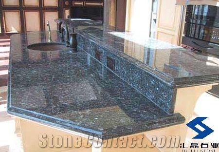 Blue Pearl Granite Countertop Hl Ct059 From China