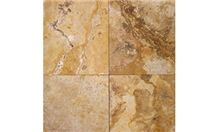 Desert Gold Travertine Slabs & Tiles, Italy Yellow Travertine