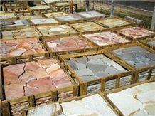 Calypso Gold Quartzite Flagstone