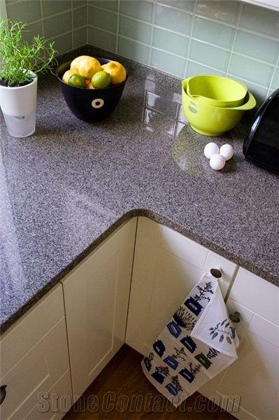 Bohus Grey Granite Countertop From Sweden Stonecontact Com