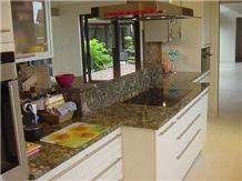 Green Marinace Granite Countertop