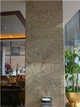 Diamond Flowers Granite Wall Panel