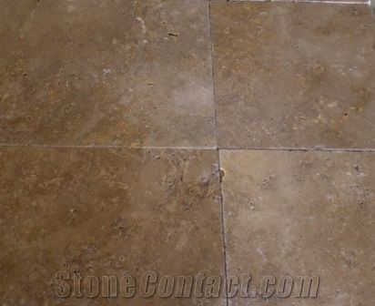 Noce Travertine Tile Turkey Brown