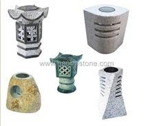Granite Marble ,natural Stone Solar Lanterns-2