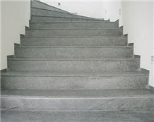 Soapstone Stairs, Old Dominion Grey Soapstone