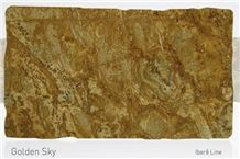 Golden Sky Granite Slabs & Tiles, Brazil Yellow Granite