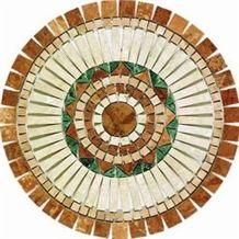 /products-13920/travertine-mosaic-medallion-m009