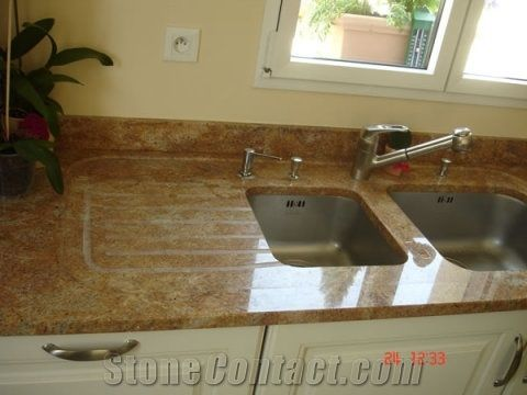 Madura Gold Granite Countertop From France 25688