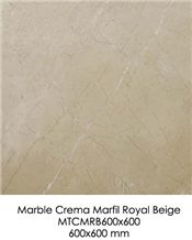 Marble Tile - Crema Marfil Royal Beige