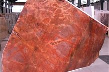 Red Damasco Bl 6385 Marble Slabs