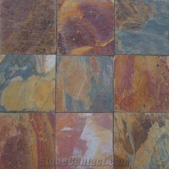 Kashmir Raja Slate Tile From India Stonecontact Com