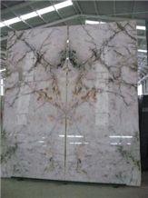 Iceberg White Quartzite Polished Slabs
