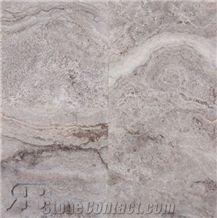 Silver Travertine 18 X 18 Tiles