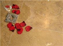 Chocolate Travertine Floor Tile, Turkey Brown Travertine