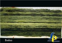Green Bamboo Granite Slabs