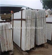 Pure White Marble Slab, Viet Nam White Marble