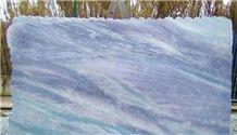 Arcobaleno Quartzite Slabs, Brazil Blue Quartzite