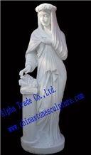Sichuan White Marble Sculptures