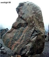Granite Garden Boulder