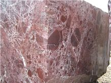 Rosa Levanto Marble Block, Turkey Red Marble