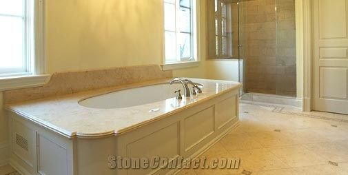 Marble Bath Tub Surround from Canada-17463 - StoneContact.com
