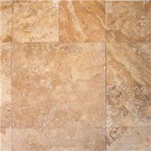 Tuscany Gold Travertine Pattern Tile