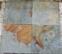Sea Green Slate Flooring Stone