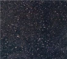 China Black Galaxy Granite Slabs & Tiles