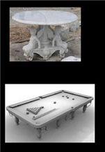 White Marble Furniture