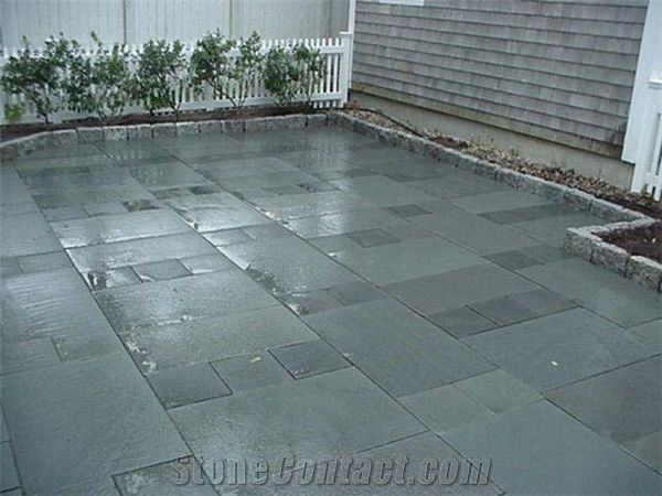 Belgian Blue Stone Pavement Grey Blue Stone Pavement From