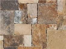Squared Fieldstone No Joint